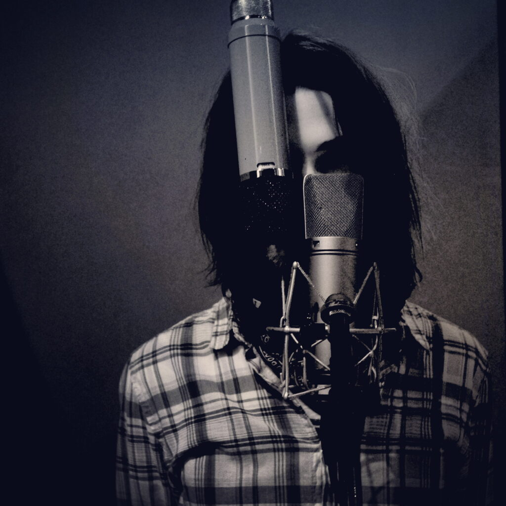 Alex Pratsyuk of Sullen Waves at Fever Recording Studios